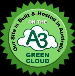 Green Cloud Hosting Emblem