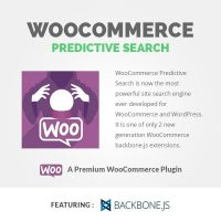 Woocommerce-predictive search