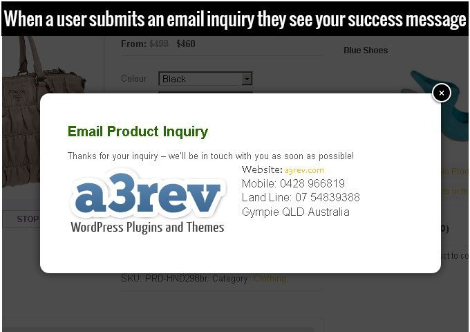 Woo-Email-and-cart_Success-message-a3rev