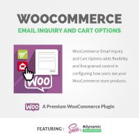 Woocommerce-EMAIL INQUIRY AND CART OPTIONS