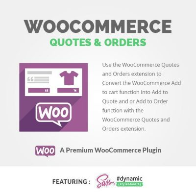 Woocommerce-QUOTES & ORDERS