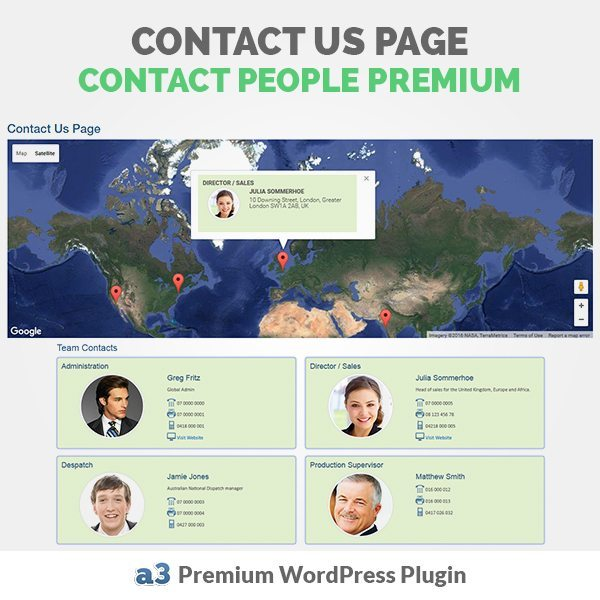 a3 Contact People Premium