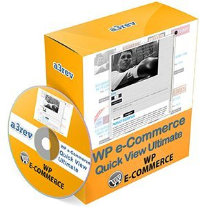WP e-Commerce Quick View Ultimate box