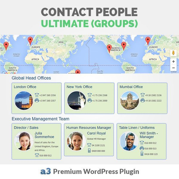 a3 Contact People Ultimate