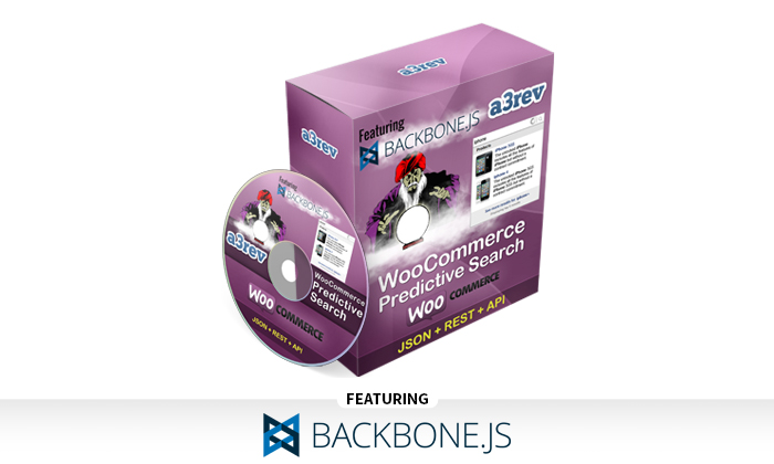 WooCommerce Predictive Search and Backbone js