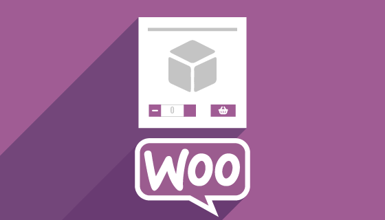 WooCommerce Product Cards Quantity Selector